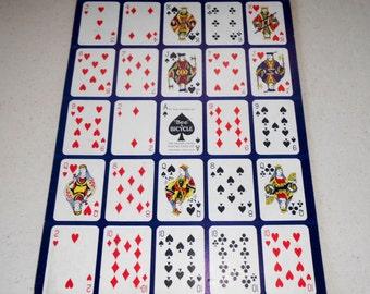 Vintage Po-Ke-No Cards, Vintage Card Game, Vintage Card Game Pieces