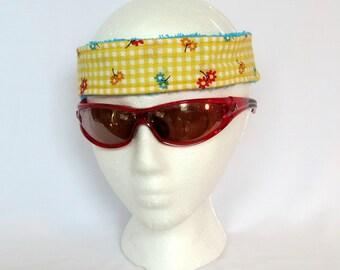 Adjustable Sweatband / Headband - Little Flowers