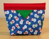 Quilted Snap Bag (SB036)