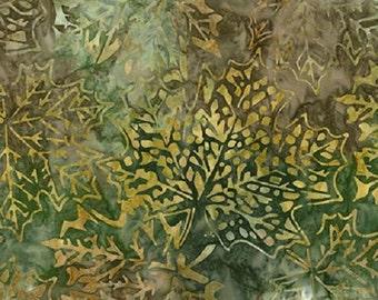 Kaufman Batik Cornucopia 6 14971 39 Willow Leaves by the yard