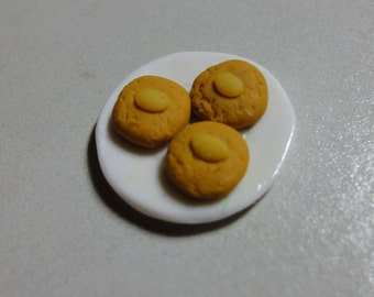 Miniature Chinese Almond Cookies