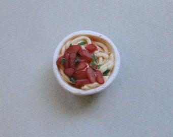 Miniature Bowl Of BBQ Pork Saimin