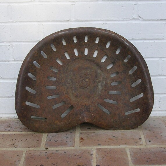 Old Tractor Seats : Antique vintage tractor seat farm machine horse drawn