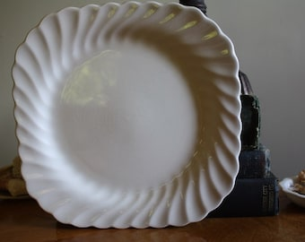 Johnson Brothers Ironstone Square Salad Plate 7.5 inches