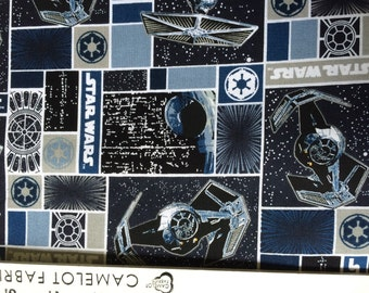 Star Wars Imperial Ships Fabric By The Yard