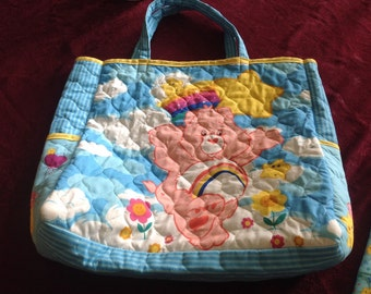 Carebears tote bag