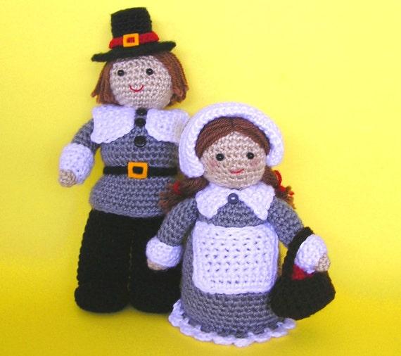 PILGRIM COUPLE PDF Crochet pattern