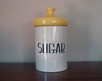 Quite possibly the world's largest (and grooviest) sugar canister