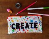 Create Pencil Case Kids Pencil Case Pencil Pouch Zipper Pouch School Supplies Pouch