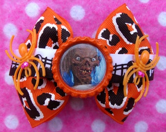 Tales from the Crypt Halloween Crypt Keeper Hair Bow