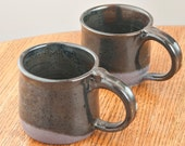 Pair of Ceramic Coffee Mugs