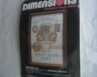 Cross Stitch Kit New Bottoms up! 6549 Dimensions