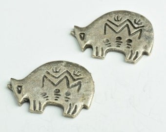 Southwest Armadillo, 34mm Antique, 4 per pack 02852AS