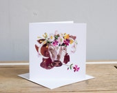 Wild Thing Greetings Card