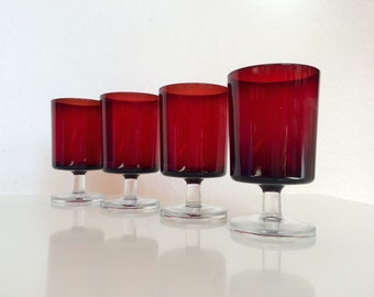 Luminarc Water / Wine Glasses