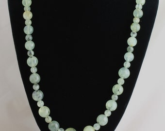 Prehnite Necklace. Listing 242731756