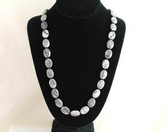 Marble Necklace. Listing 246021356