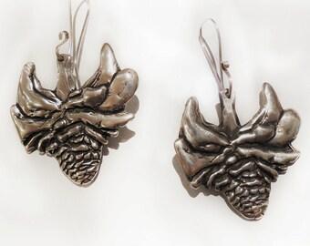 Torch Ginger Sterling Silver Earrings