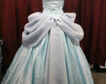 Cinderella Princess Ballgown--Custom