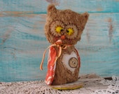Owl Softie Pattern 5.5 inches by Woollybuttbears on Etsy, instant download