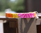 Cat Collar Summer Flowers Ready for shipping