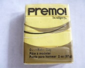 Premo! Sculpey Polymer Clay Block, 57 grams, 2 oz, Never Used, Original Packaging, Polymer Clay Supplies, Fimo, Sculpey,