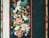 Asian Elegance pattern using Tadashi Crane panel