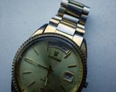 Vintage Men's Rolex-style Watch - Ricoh - Quartz - Day Date Time