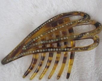 Vintage, antique hair comb, hair pick