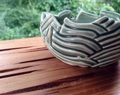 Lotus Blossom - Floral Bowl - Jewelry Holder, Keeper