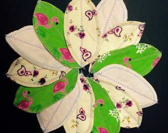 Set of 5 MamaBear LadyWear Interlabial / Intralabial Petal Pads