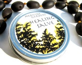 herbal healing salve-- to protect and help heal wounds