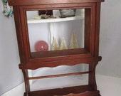 Sweet Vintage Shelf Wood Shelf Spice Rack Knick Knack Shelf Mid Century Home Decor