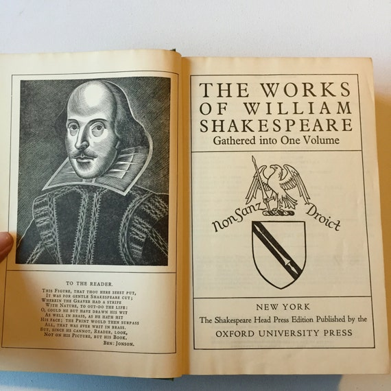 Complete Works William Shakespeare