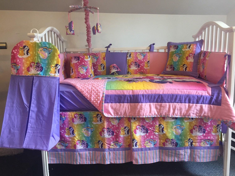 My Little Pony Boutique Crib/Mini Crib Toddler Nursery Bedding