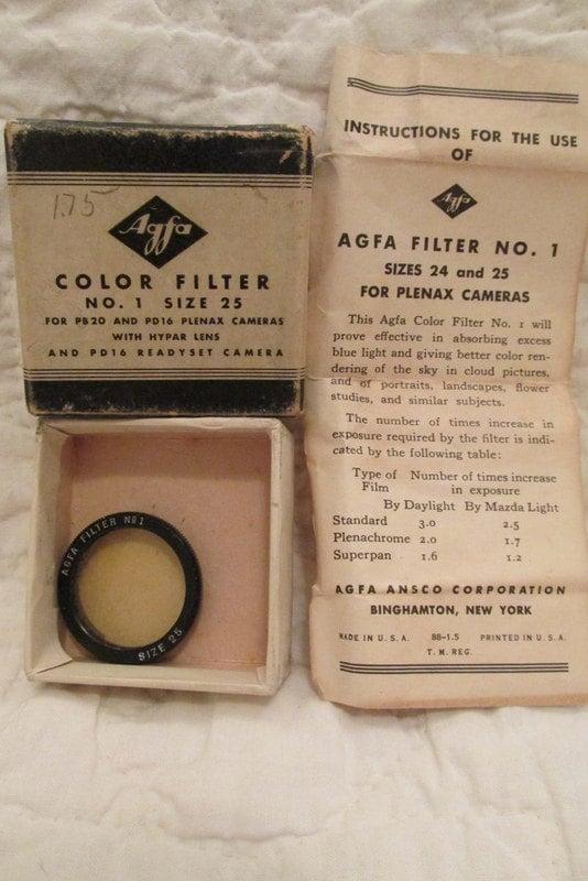 agfa box camera instructions
