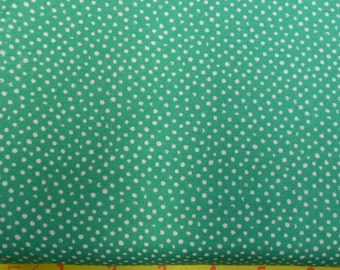 Confetti Parrot Green Dots Fabric from Dear Stella - Yardage