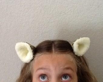 Clip on Cheetah Ears