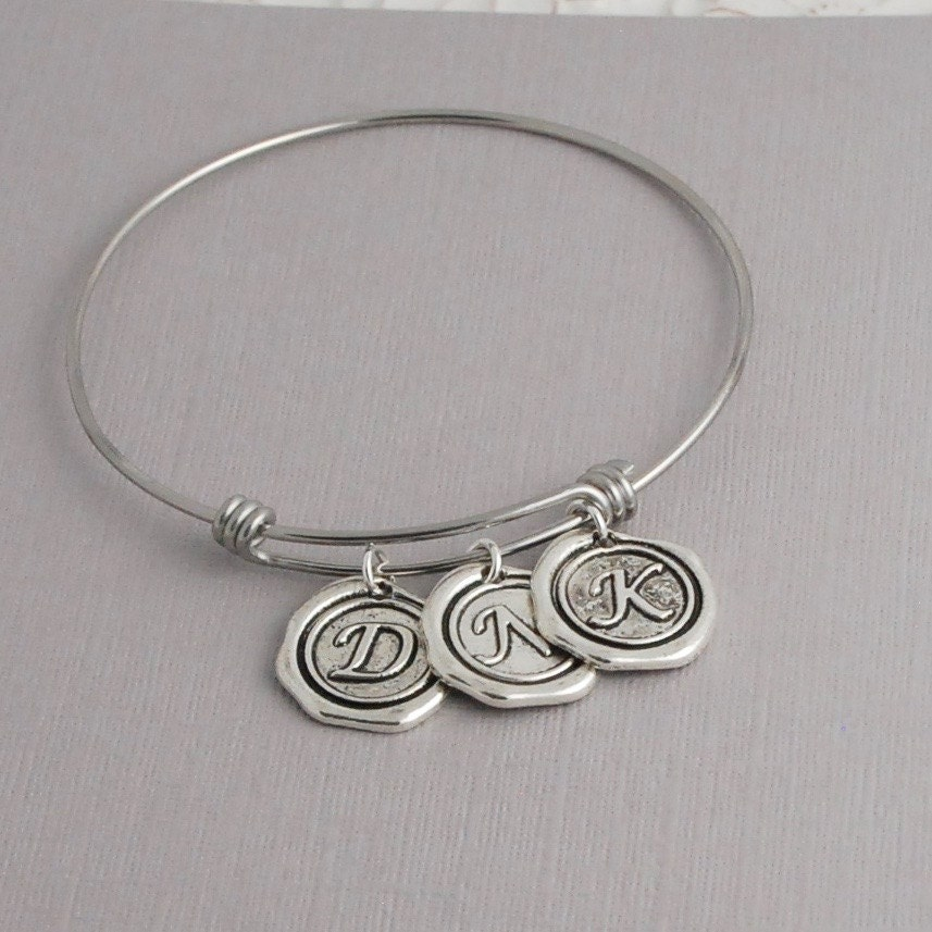 Initial Charms For Bracelets