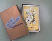 Vintage Lord Baltimore Playing Cards linen finish