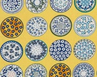 2635C -- Sale - Kaleidoscope Yellow Fabric