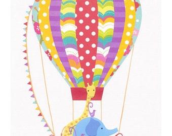 Ballooning Around  - Fine Art Print