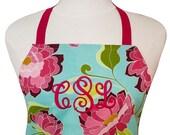Elegant Apron | Classic Kitchen Apron | Rose Floral