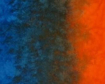 Hand Dyed Fabric Gradient - Seaworthy
