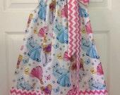 Ready to Ship!  Size 5 Disney Princess Pillowcase Dress