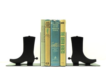 Boots Metal Art Bookends - Free USA Shipping
