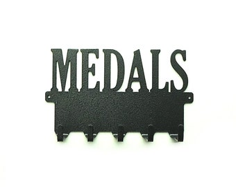 ON SALE - Metal Art Medals Rack - Free USA Shipping