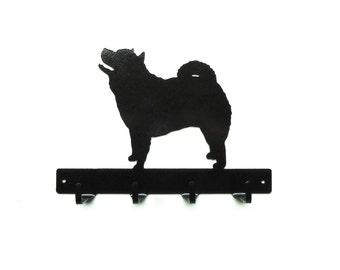 Chow Metal Art Dog Leash or Key Rack - Free USA Shipping