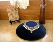 Pentagram chainmail choker and bracelet