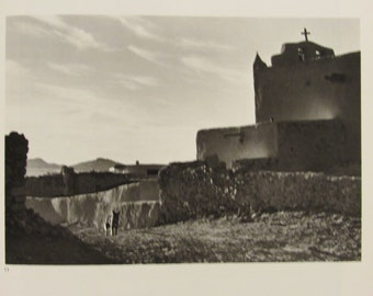 Ansel Adams Vintage Black and White Photography Prints, Unframed Book Prints, Home Decor,1972